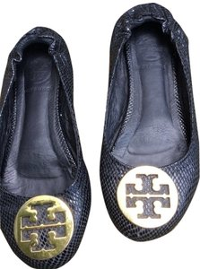 Tory Burch Toryburchflats Black with gold accent Flats