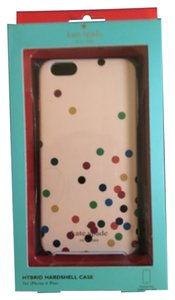 Kate Spade Kate Spade New York Confetti Party iPhone 6 Plus Hybrid Hardshell Case