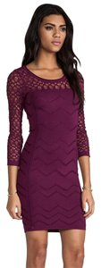 Catherine Malandrino Bodycon Stretch Knit Stretchy Dress