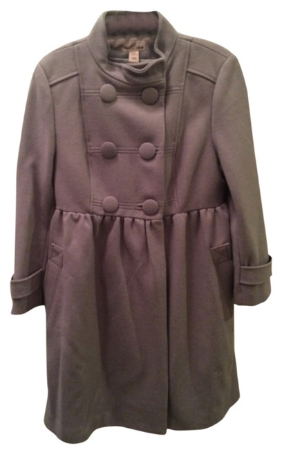 Preload https://item4.tradesy.com/images/h-and-m-grey-pea-coat-size-8-m-10470118-0-1.jpg?width=400&height=650