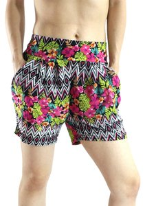 Exotic Wear Mini/Short Shorts Hawaii Floral Prints