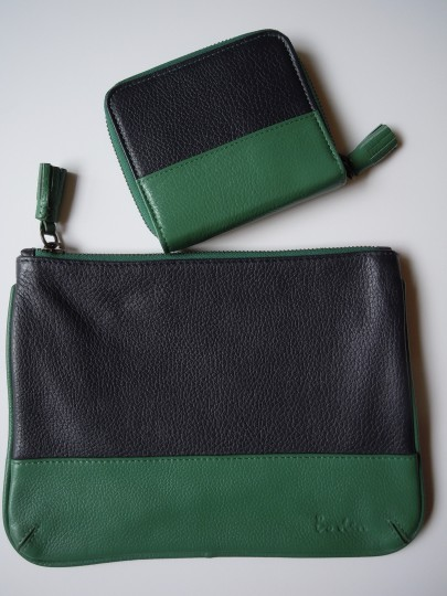 Preload https://img-static.tradesy.com/item/10470184/boden-green-blue-new-set-leather-pouch-and-zip-around-wallet-0-6-540-540.jpg