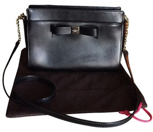 Kate Spade Black Montford Park Smooth Angelica Cross Body Bag
