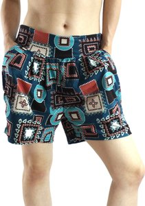 Exotic Wear Mini/Short Shorts Dark Colors Printed