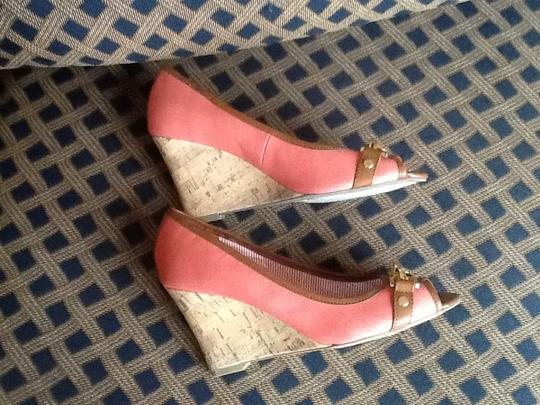 Tommy Hilfiger Coral Wedges
