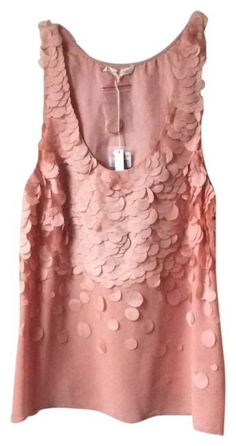 Preload https://item1.tradesy.com/images/blush-pink-hand-made-blouse-in-night-out-top-size-8-m-10471180-0-1.jpg?width=400&height=650