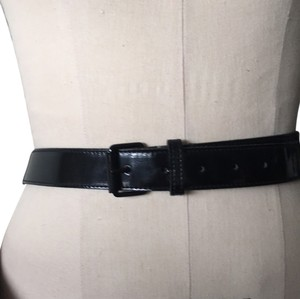 Burberry London Burberry patent leather belt