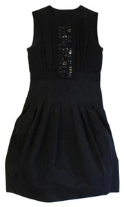 BCBGMAXAZRIA Studded Bubble Skirt Dress