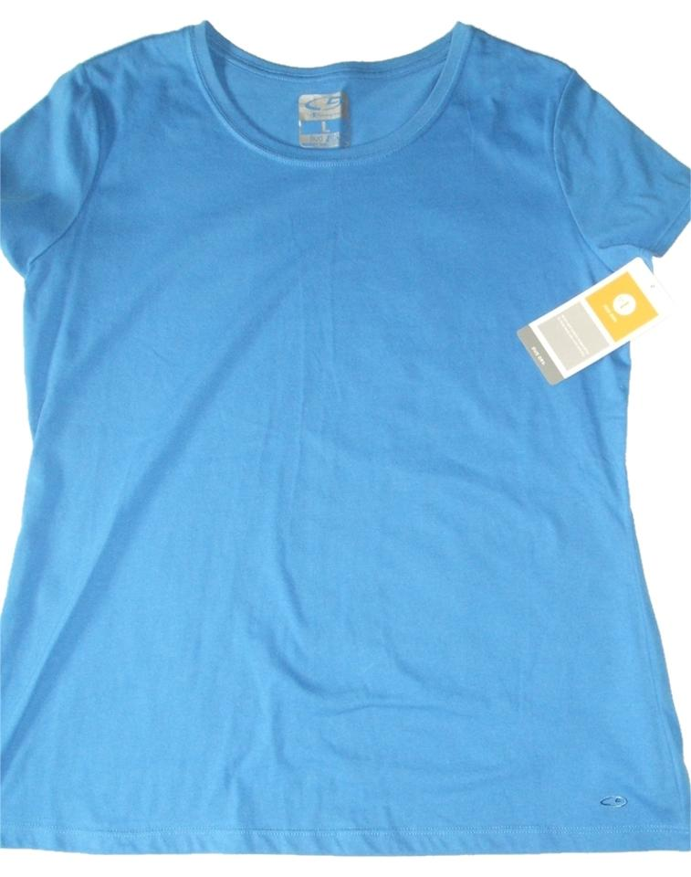 Champion Women s C9 By Duo Dry T Shirt L Keep You Cool dry Sky Blue New  Activewear Top 83c04e1e54