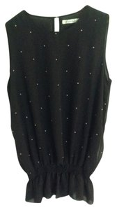Kenneth Cole Studded Top Black