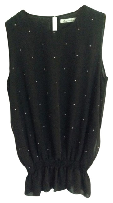 Preload https://item4.tradesy.com/images/kenneth-cole-black-studded-night-out-top-size-8-m-10472383-0-1.jpg?width=400&height=650