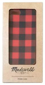 Madewell Red Plaid iPhone 5 Case