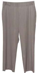 Lauren Ralph Lauren Wool Wool Blend Trouser Pants Gray