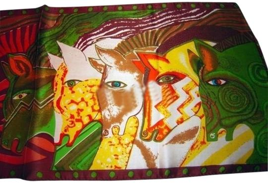 Other BOGO Free 100% Silk Horse Scarf Free Shipping