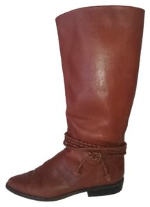Scruples Riding Flat Winter Trend Vintage Riding Camel Handmade Made In Brazil Brown Boots