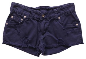 Carmar Distressed Denim Shorts-Distressed
