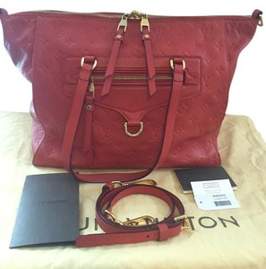 Louis Vuitton Deep Monogram Satchel in Orient