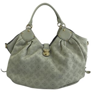 Louis Vuitton Mahina Tote in Lin (Ivory)
