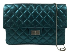 Chanel Quilted Clutch Shoulder Bag