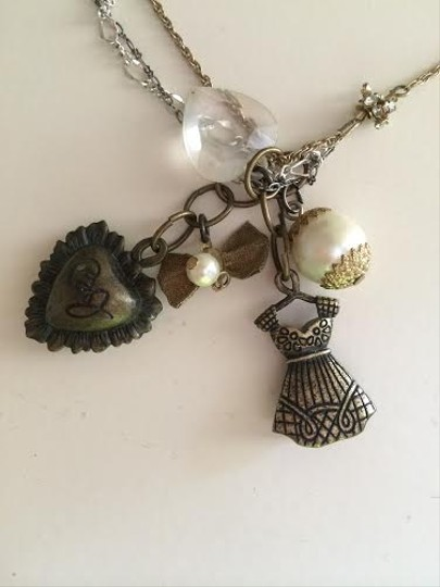 Betsey Johnson Charm Necklace