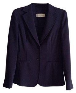 Max Mara New And Unworn Without Tag Dark Navy Blazer