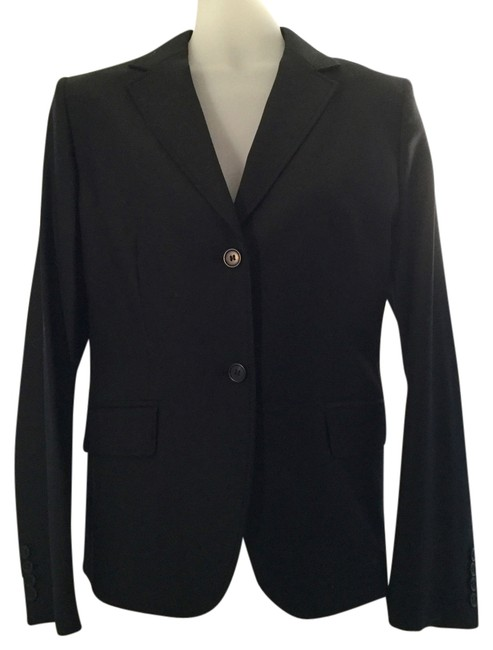 Preload https://item3.tradesy.com/images/jcrew-black-jacket-style-64724-pant-suit-size-8-m-10476427-0-1.jpg?width=400&height=650