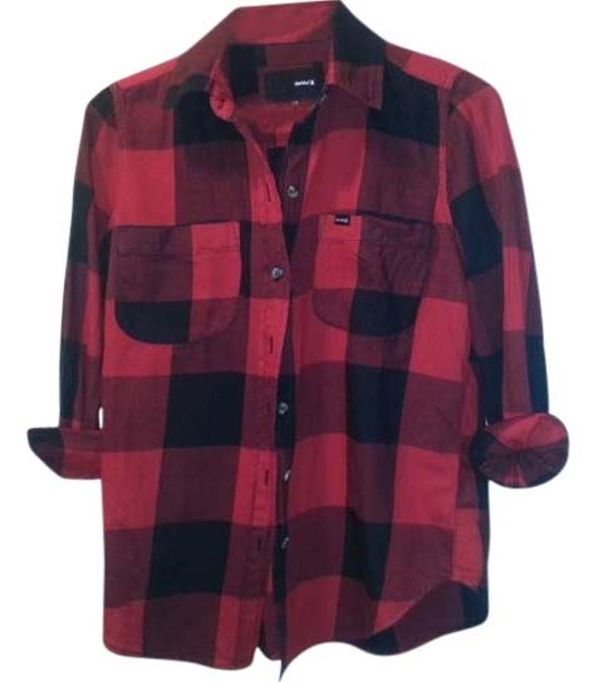 Flannel Shirt Red Plaid - Joe Maloy ee17726ce55