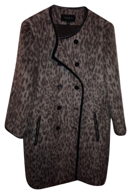 Preload https://item1.tradesy.com/images/ann-taylor-leopard-fur-coat-size-10-m-10477795-0-1.jpg?width=400&height=650