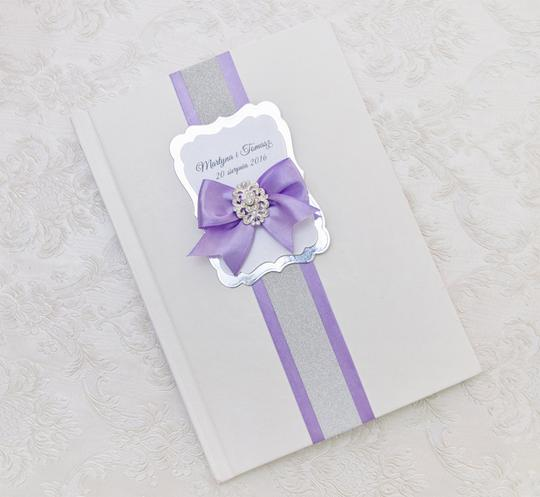 Preload https://item5.tradesy.com/images/lavender-wedding-guest-book-personalized--10477834-0-0.jpg?width=440&height=440