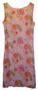 Coldwater Creek short dress pink Silk Summer Sheer on Tradesy