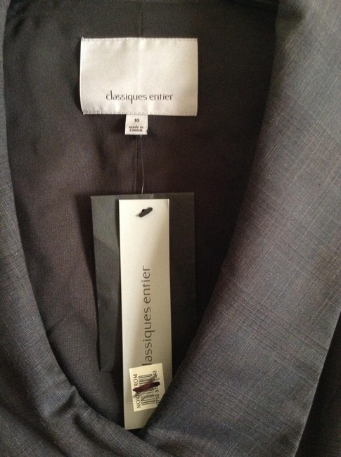 """Classiques Entier New And Unworn With Tag Attached Length From Shoulder To Hem:25"""" Width Across Chest: 17.75"""" From Nordstrom Top Charcoal Grey"""