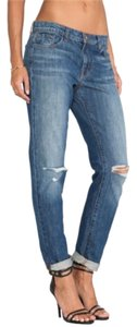 J Brand Boyfriend Cut Jeans-Medium Wash