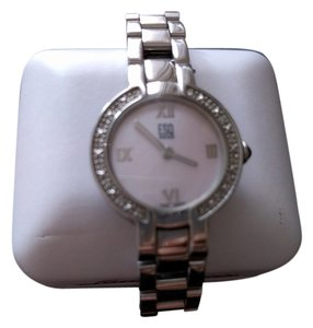 ESQ Movado Esq Neve Diamond and Mother of Pearl Watch