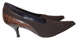 Donald J. Pliner Dark Brown Pumps