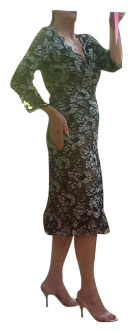 Preload https://item2.tradesy.com/images/casadei-black-and-graysilver-gray-style-nr-14054-mid-length-cocktail-dress-size-8-m-104786-0-2.jpg?width=400&height=650