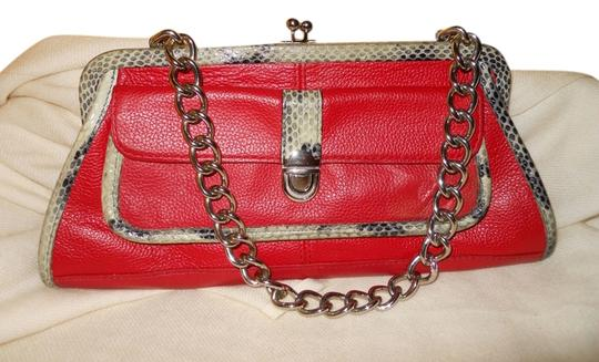 Preload https://img-static.tradesy.com/item/10479733/arden-b-red-with-black-and-grey-trim-leather-clutch-0-1-540-540.jpg