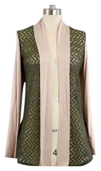Preload https://item5.tradesy.com/images/blush-and-green-lace-contrast-cardigan-size-10-m-10480834-0-1.jpg?width=400&height=650