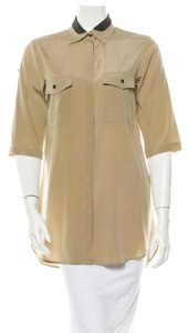 Rag & Bone Button Down Shirt Beige