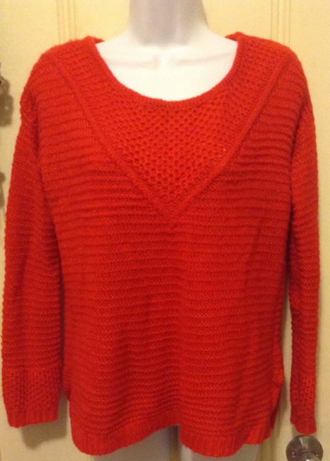 Preload https://item2.tradesy.com/images/h-and-m-bright-red-hm-sweaterpullover-size-0-xs-10481731-0-0.jpg?width=400&height=650