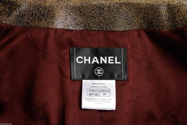 Chanel Multi-Color Leather Jacket