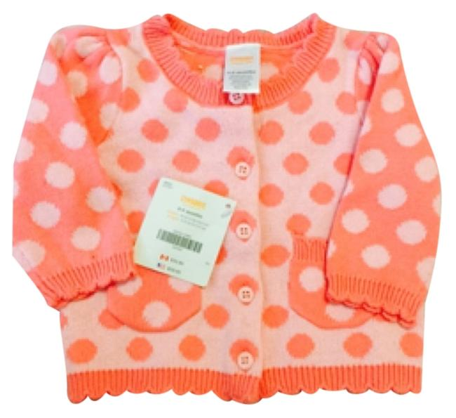 Preload https://item1.tradesy.com/images/gymboree-salmon-polka-dots-sweaterpullover-size-00-xxs-10481830-0-1.jpg?width=400&height=650