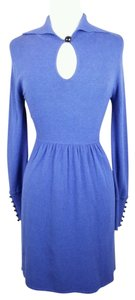 Cynthia Steffe short dress Blue Longsleeve Fit And Flare on Tradesy