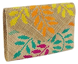 Tommy Bahama Envelope Palm Clutch