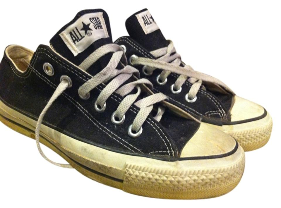 Converse Black with White Stitching Chuck Taylor All Stars Lowtops Sneakers Size US 8 75% off retail