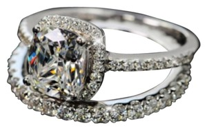 Other 4CT Engagement Ring; Eternity Wedding Band