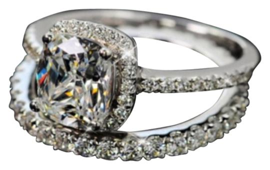 Preload https://item3.tradesy.com/images/silver-4ct-engagement-eternity-wedding-band-ring-10482697-0-1.jpg?width=440&height=440