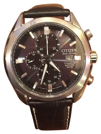 Preload https://item1.tradesy.com/images/citizen-black-titanium-saphire-crystal-men-s-watch-10483390-0-1.jpg?width=440&height=440
