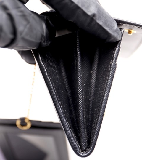 Prada Black Clutch