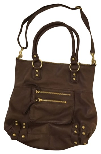 Linea Pelle Satchel in Brown