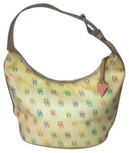 Dooney & Bourke H3 462997 Coated Canvas Hobo Bag